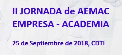 II Jornada AEMAC Empresa - Academia